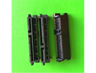 深圳SATA连接器厂家供应SATA22PIN连接器现货交期快