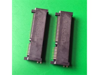 沙井实力厂家供应MINI PCI E连接器52PIN8.0高