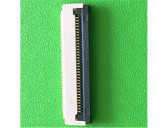 数码产品FPC连接器0.5MM间距 下接翻盖式品质稳定
