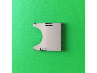 白云区厂家批发MICRO SD卡座二合一 自弹式卡座连接器
