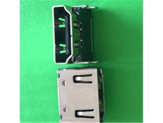 深圳沙井HDMI 19PIN公母连接器,HDMI连接器插座