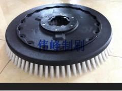 洗地毛刷厂专业生产 19寸洗地机毛刷 定做洗地机毛刷