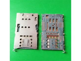 厂家研发SIM卡座+TF卡座三合一 可加卡托现货品质高效