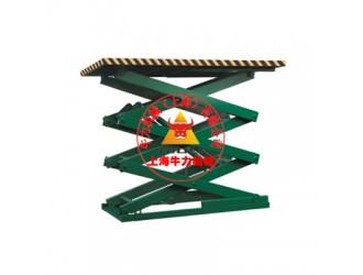 上海剪叉式固定液压货梯专业生产厂家