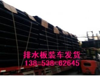 茂名车库种植排水板▽30高车库黑色排水板
