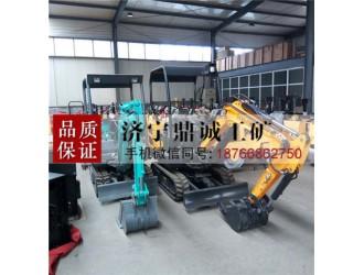 1.5吨履带式小型液压挖掘机 转场方便 农用园林多功能小钩机
