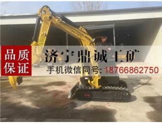 郑州液压先导农用微钩机 2.2吨履带式挖掘机 低能高效挖沟机