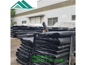 信阳车库绿化隔根板#青岛1200g蓄排水板作用