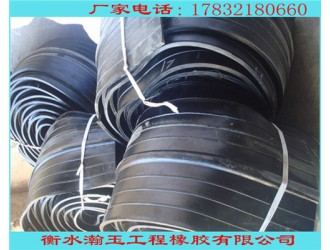 隧道中埋橡胶止水带 外贴式橡胶止水带 规格定制