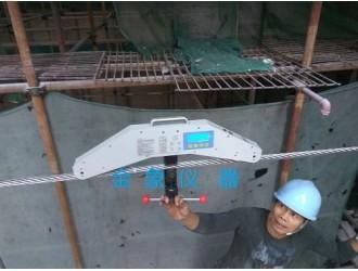 钢拉索拉力检测装置 数显式绳索拉力计 钢丝绳拉索张力仪