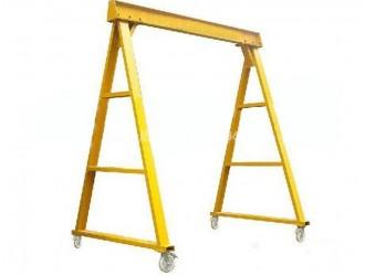 深圳移动龙门架|注塑机龙门吊架|手动简易吊架品质更安全