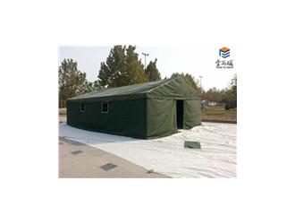 丰雨顺中山救灾帐篷4X10米抗风施工帐篷定做