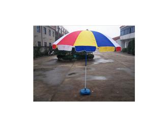 丰雨顺庄河广告太阳伞定制 52寸遮阳摆摊伞