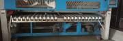 安阳出售二手100公斤航星水洗机14年机器酒店用布草折叠机
