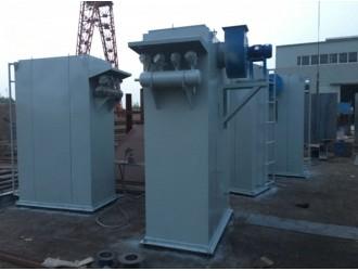 九阳小型袋式除尘器 厂家直销DMC-24型脉冲单机布袋除尘器
