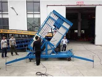 上海双桅柱铝合金高空升降机什么品牌好