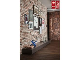仿古红砖片切片砖劈开砖文化砖做旧红砖片角砖条砖铺地砖