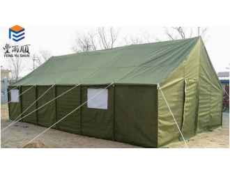 丰雨顺济南救灾帐篷4X6米 冬季保暖帐篷厂家直销