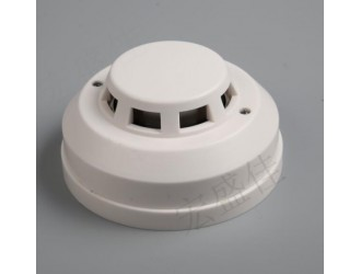 耐高温烟雾探测器十大品牌/机房耐高温工作烟雾报警器/感温探头