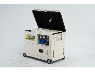 改装车配套7千瓦三相发电机