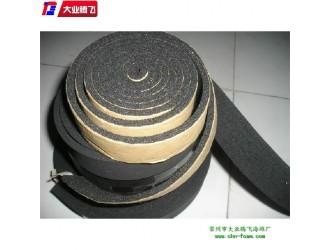 海绵泡棉大业腾飞江苏常州工厂直销供应海棉泡绵阻燃背胶条