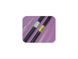 供应耐高温半硬聚偏乙烯热缩管黑色175°
