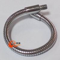 供应灯饰支架蛇形管 金属万向鹅颈管 台灯弯曲定型管