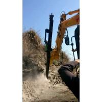 挖掘机改液压钻机真正实现一机多用