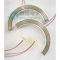 胜途电子定制两半式滑环,哈夫盘式滑环,分割滑环