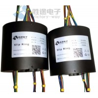 胜途电子大电流导电滑环传输性能稳定 信号无干扰传输