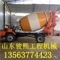 全新小型混凝土搅拌车 建筑砂石混凝土搅拌运输