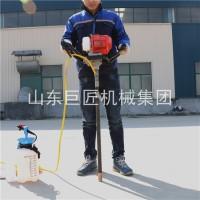 小型背包钻机  进口动力浅层取样钻机重量轻操作简单