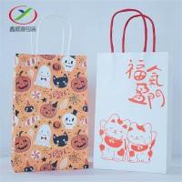 徐州纸制手提袋材质定制,印刷卡通手提袋厂家