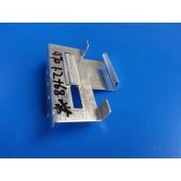 湖北厂家供应470型彩钢瓦支架Q235材质金属屋面滑动暗扣