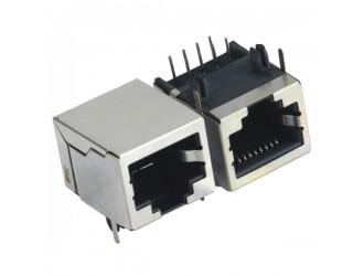 厂家批发RJ45连接器 RJ45水晶头RJ45沉板贴板式现货