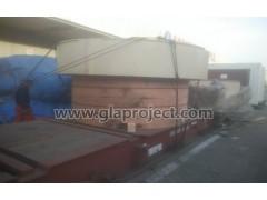 天津到敖德萨矿石破碎机多式联运GLA机器设备运输方案解决案例