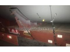 上海到梅尔辛冷却机筒体多式联运GLA特种柜物流方案解决案例