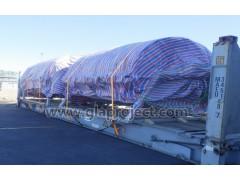 天津到格但斯克真空脱水机大件项目运输GLA解决方案案例