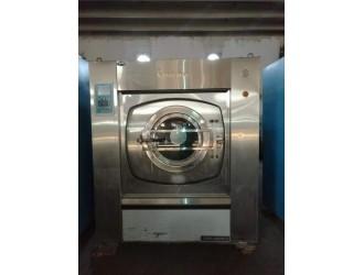 安阳海狮折叠机哪有卖出售二手布草水洗机烘干机价格