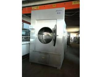阳泉布草洗涤设备转让二手百强工业水洗机海狮折叠机