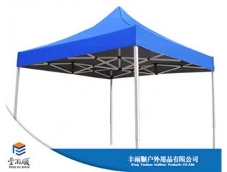 丰雨顺2X3瓷白架帐篷定制 集安广告帐篷批发
