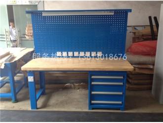 广州榉木桌面车间钳工工作台模具装配重型钢板工作台维修台厂家