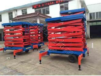 上海剪叉式移动电动升降台哪个牌子好