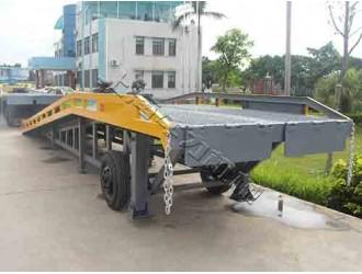 上海机械式移动电动登车桥报价