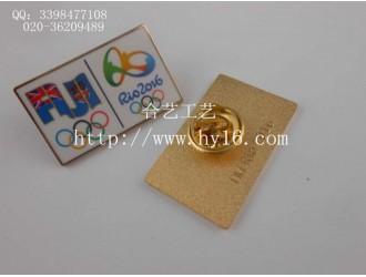 仿珐琅徽章、运动会徽章、奥运会襟章、纪念胸针