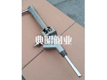 沥青柱塞式取样阀(法兰/螺纹连接)