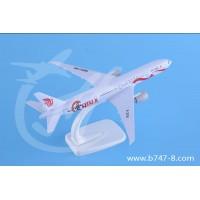 飞机模型波音B777国航彩绘机金属精美客机航模玩具礼品