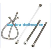 热水器马桶接水软管,304不锈钢编织管