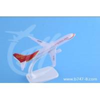 飞机模型波音B737-800海南航空金属仿真航模促销礼品