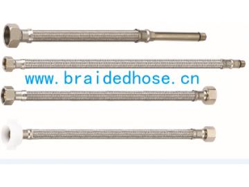 不锈钢软管,304马桶热水器用编织管